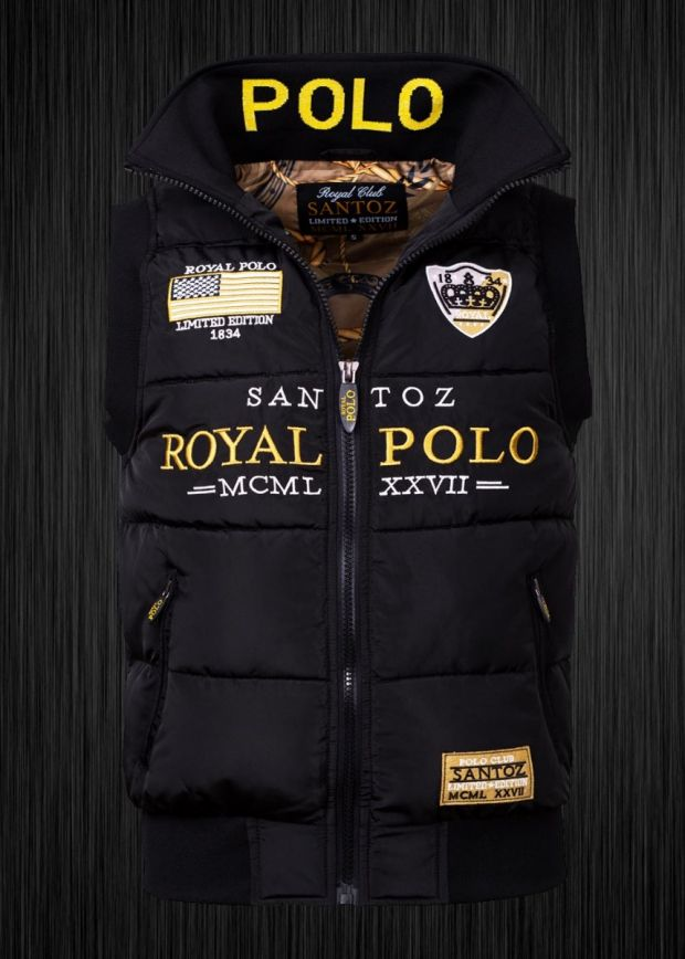 SANTOZ POLO CLUB Royal Polo Limited Edition Men BlackGold