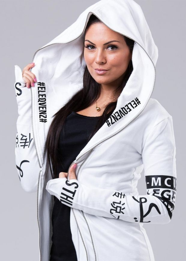 Selfmade Queen Hood White