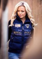 Royal Polo Limited Ed. Women Vest Navy Blue / Gold