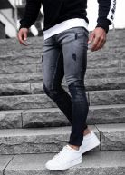 Hyped Faded Jeans Black