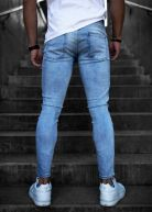 LGND Ripped & Repaired Jeans Light Blue Wash